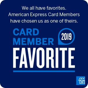 American Express Card Member Favorite on Remnants Carpet With Bound Edges